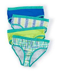 Hanes  X-Temp®  Girls' Brief 4-Pack