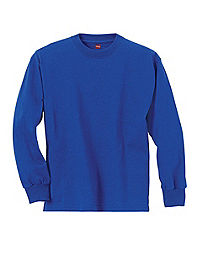 Hanes Youth ComfortSoft® TAGLESS® Long-Sleeve T-Shirt