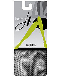 Hanes Fishnet Herringbone Tights