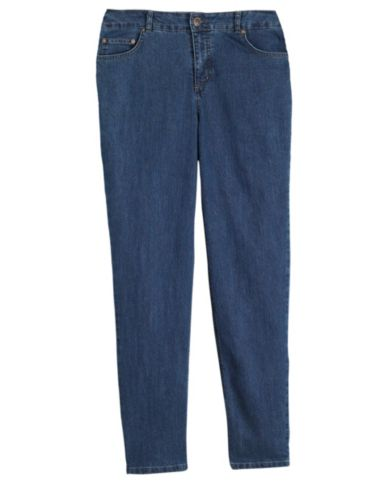 Just My Size Classic Tummy-Control Women's Jeans, Petite