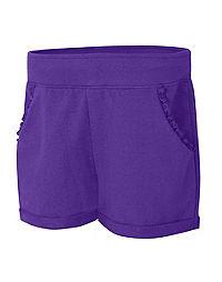 Hanes Girls' Ruffle Pocket Short