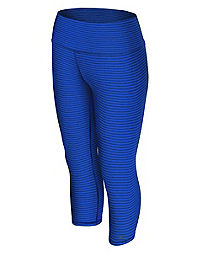 Champion Women's Absolute Printed Capris With SmoothTec™ Band