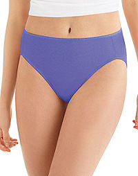 Hanes® Cool Comfort™ Women's Microfiber Hi-Cut Panties 5-Pack