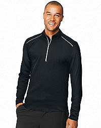 Hanes Sport™ Men's Performance Quarter-Zip Sweatshirt