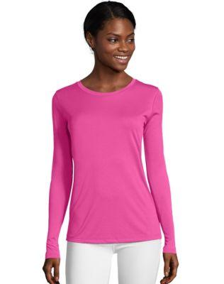 Hanes Sport&#153 Cool DRI® Women's Performance Long-Sleeve T-Shirt