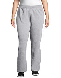 Just My Size ComfortSoft® EcoSmart® Fleece Open-Hem Women's Sweatpants, Petite Length
