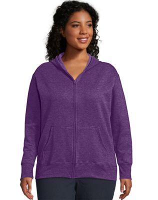 Just My Size ComfortSoft® EcoSmart® Fleece Full-Zip Women's Hoodie