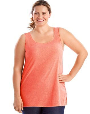 Just My Size X-Temp® Scoop-Neck Lightweight Women's Tank Top