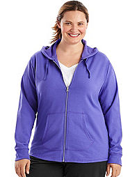 Just My Size French Terry Full-Zip Women's Hoodie
