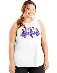 Just My Size Active Graphic Muscle Tank