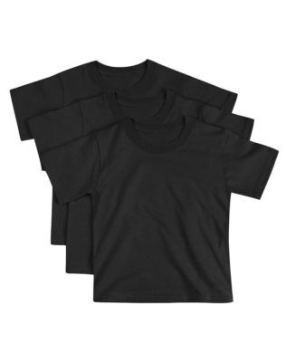 Hanes ComfortSoft® Toddler Crewneck  T-Shirt 3-Pack