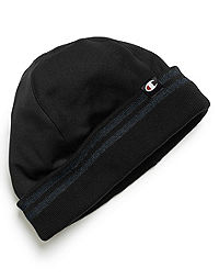Champion Authentic Men's Watch Cap with Striped Knit Cuff