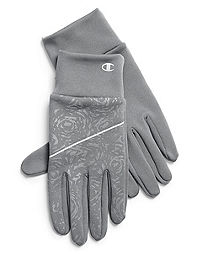 Champion Women's Tech Stretch Tonal Print Gloves