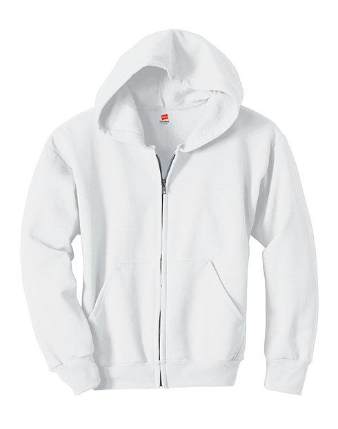 Hanes Comfortblend® EcoSmart® Full-Zip Kids' Hoodie Sweatshirt