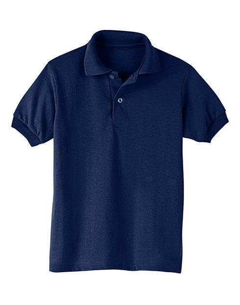 aa4f780b0 Hanes Kids  Cotton-Blend Jersey Polo