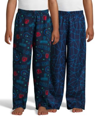 Hanes Boys' Micro Fleece Sleep Pant 2-Pack