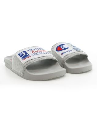 Champion Century Collection Kids' IPO Slides, Oxford Grey