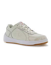 Champion Life™ Women's Super C Court Low Mono Leather Shoes, Chalk White