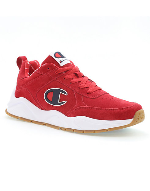 6fbee4b8fd5 Champion Life® Men s 93Eighteen Red Suede Shoes