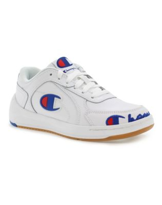 Champion Life™ Kids' Super C Court Leather Shoes, White