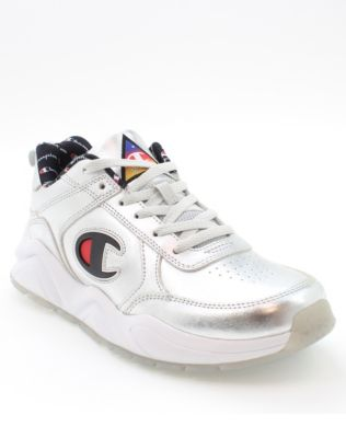 Champion Life® Men's 93Eighteen Silver Metallic Shoes