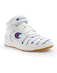 Champion Life™ Women's Super C Court Print Leather Shoes, White