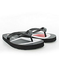 Champion Life™ Women's Flip Flops Split C Logo, Black