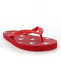 Champion Life™ Men's Flip Flops Allover C Logo, Scarlet
