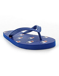 Champion Life™ Men's Flip Flops Allover C Logo, Surf The Web