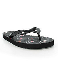 Champion Life™ Men's Flip Flops Allover C Logo, Black