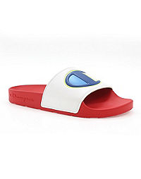 Champion Life™ Women's IPO Colorblock Slides, White Multi
