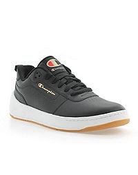 Champion Life™ Men's Super C Court Classic Leather Shoes, Black