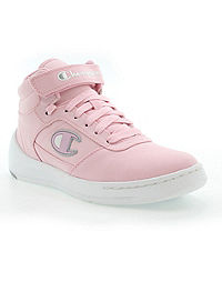 Champion Life™ Women's Super C Court Mid Canvas Shoes, Pink