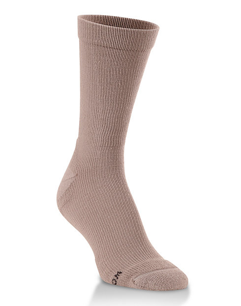 World's Softest® Men's Support Fit Crew Socks 1-Pair