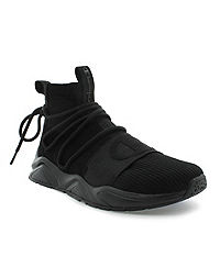 Champion Men's Rally Hype Mid Weave Shoes, Black