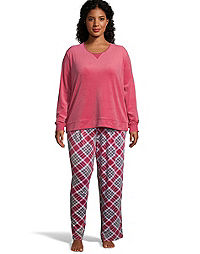 Hanes Plus Winter Skies Sleep Set