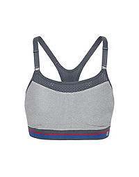 Champion® The Show-Off Sports Bra, Signature Stripe Band