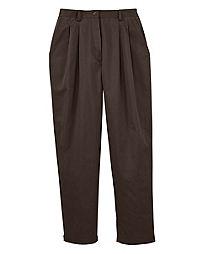 JMS Pleat Front Twill Pants, Tall