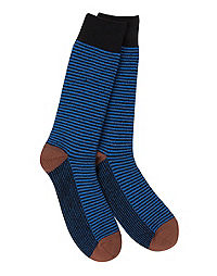 World's Softest® Men's Colorblock Crew Sock