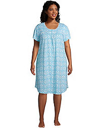 Shades of Blue Plus Nightgown