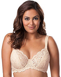 Leading Lady Sculpted Lace Underwire Bra