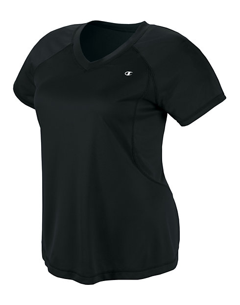 Champion Double Dry® Women's Plus T-Shirt