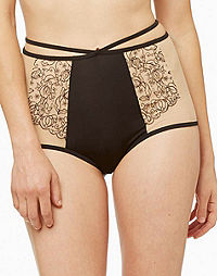 Blush Surrender Retro High Waist Brief