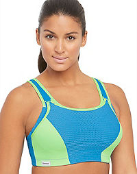 Glamorise Double Layer Wirefree Sports Bra