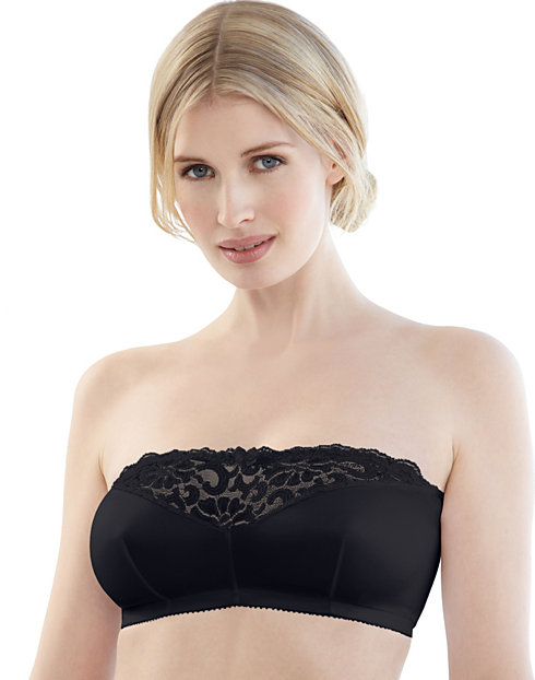 Glamorise Strapless Wirefree Leisure Bra