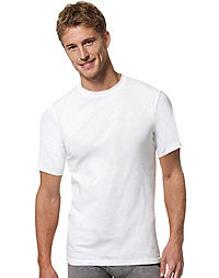 Hanes Men's FreshIQ™  X-Temp® Crewneck Undershirt 3-Pack