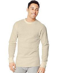 Hanes Ultimate™ X-Temp® Men's Organic Cotton Long-Sleeve Crewneck  Thermal Undershirt