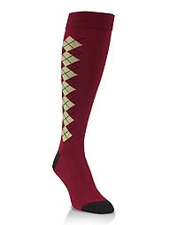 World's Softest® Argyle Over the Calf Socks 1-Pair