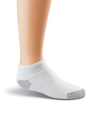 Hanes Classics Boys' Low-Cut EZ Sort® Socks 6-Pk