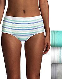 Hanes Ultimate® Women's Constant Comfort® X-Temp® Brief 3-Pack